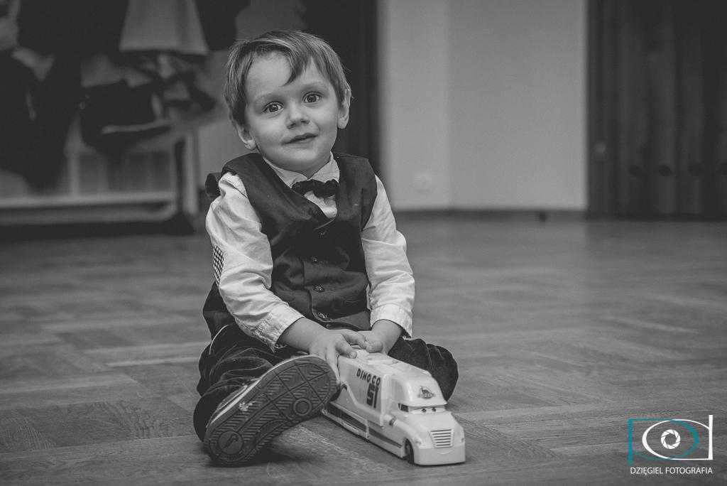 portret - chrzciny dziecka