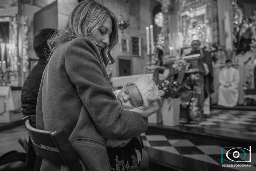 reportaż z chrzcin - Biały Kościół