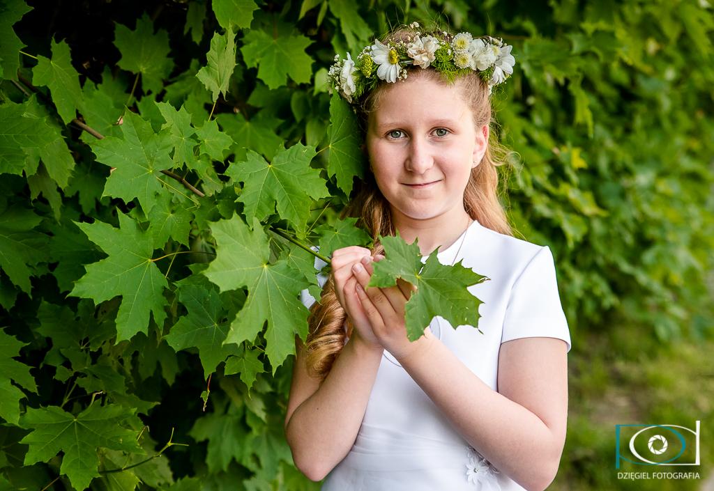 zdjęcia komunijne - fotograf Nowa Huta