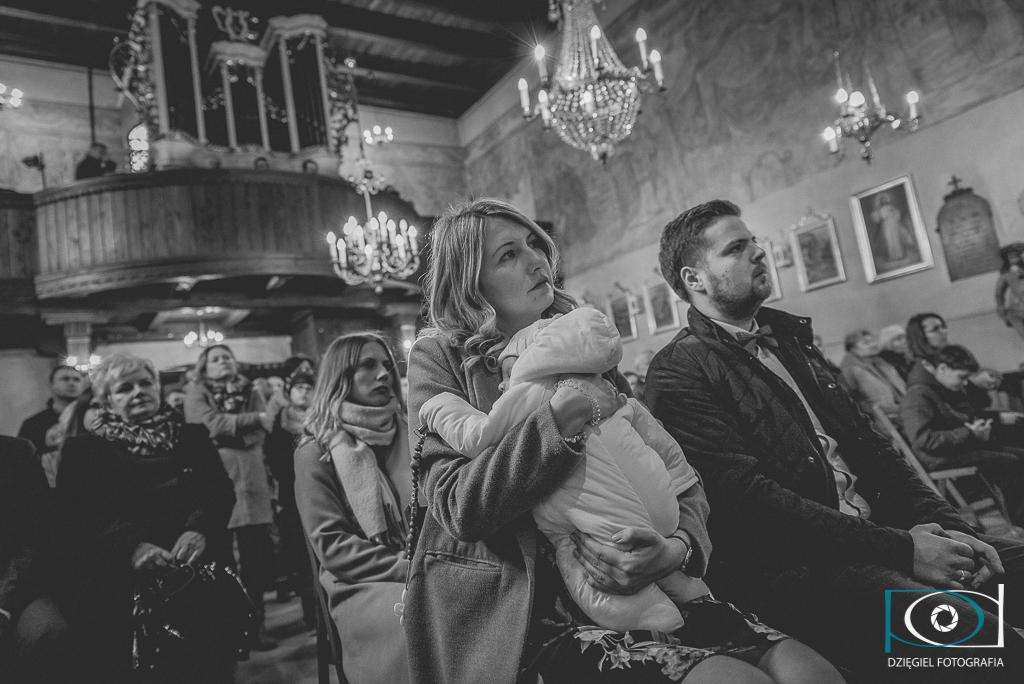 Kościół św. Idziego w Giebułtowie - reportaż z chrzcin