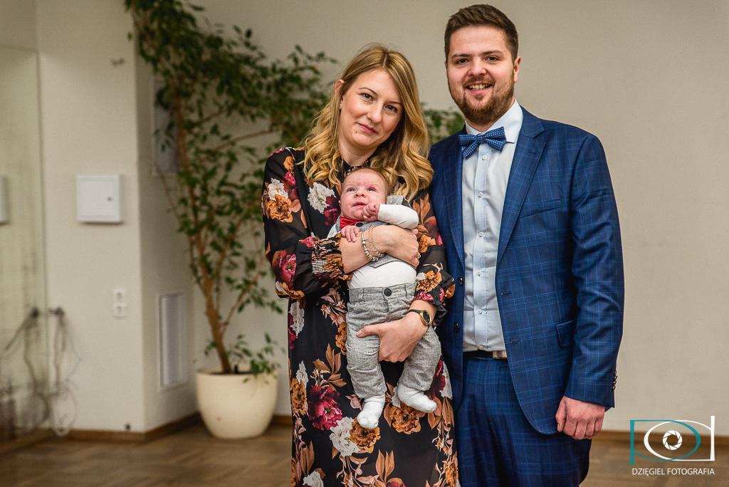 portret rodzinny - chrzciny