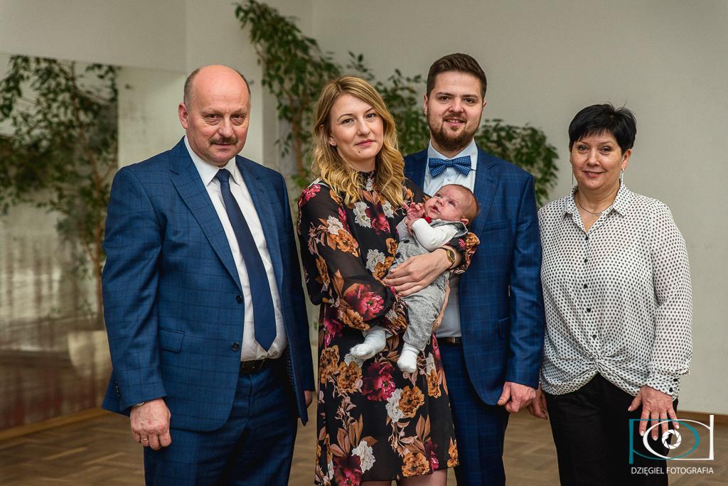 rodzina - chrzest