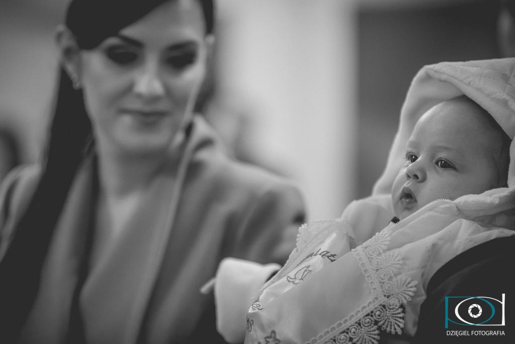 sosnowiec kościół - chrzciny - fotograf