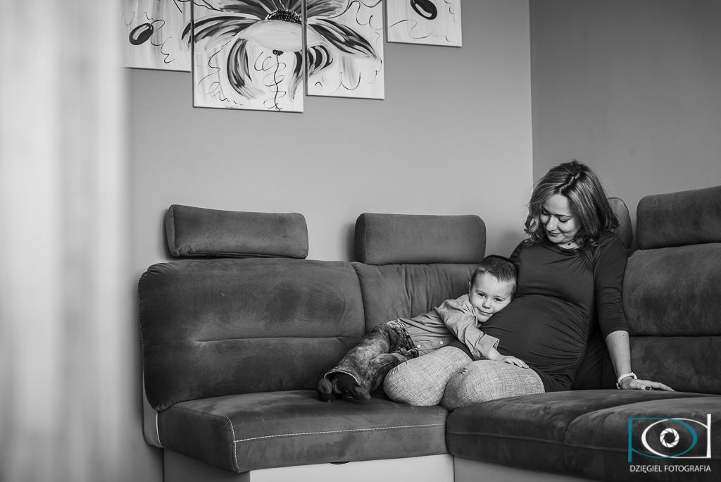 Sesja rodzinno-brzuszkowa - fotograf